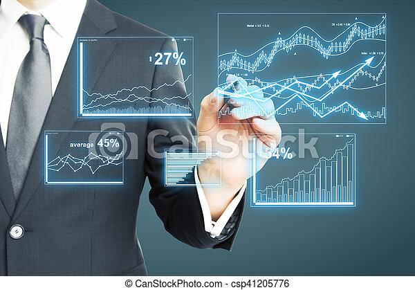 概念, 金融 - csp41205776