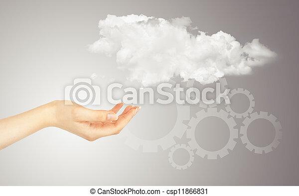 概念, 雲, 計算 - csp11866831