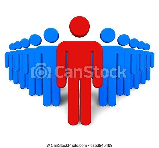 概念, success/leadership - csp3945489
