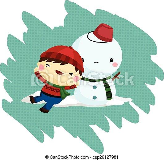 樂趣, 冬天 - csp26127981