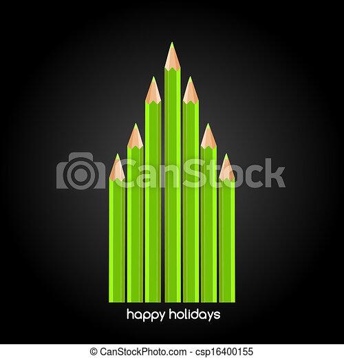 樹, 聖誕節 - csp16400155