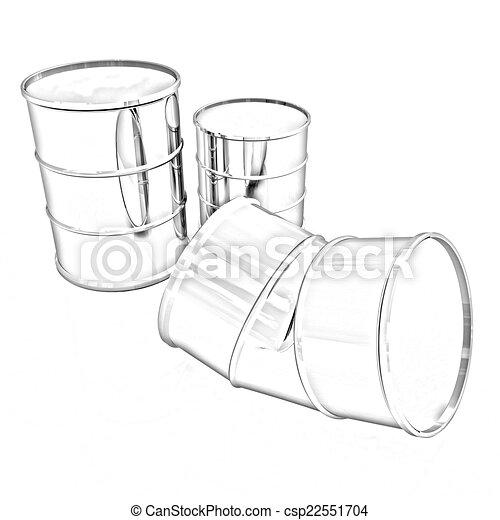 樽, 曲がった - csp22551704