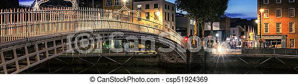 橋, ダブリン - csp51924369