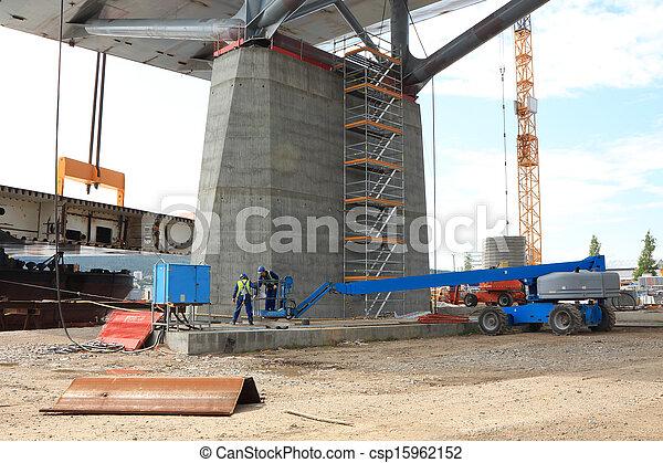 橋, 持ち上がること - csp15962152