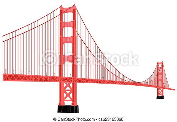 橋, 門, 金 - csp23165868