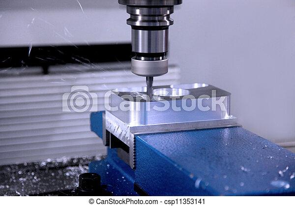 機器, 操練, workpiece - csp11353141