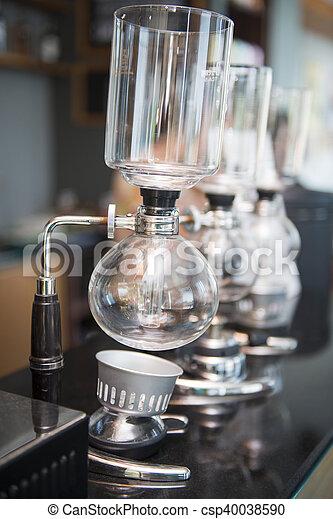 機械, コーヒー, syphon - csp40038590