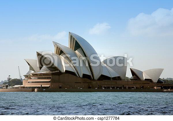 歌剧房屋, 悉尼 - csp1277784
