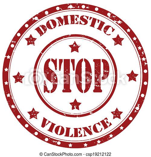 止まれ, 国内, violence-stamp - csp19212122
