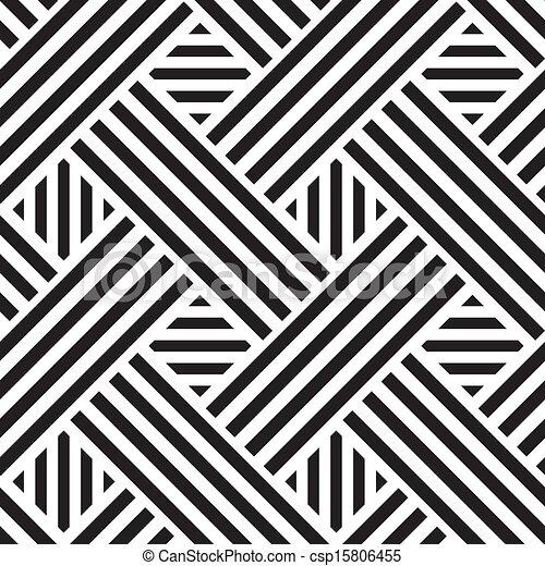 正方形, パターン, ベクトル, seamless, イラスト - csp15806455