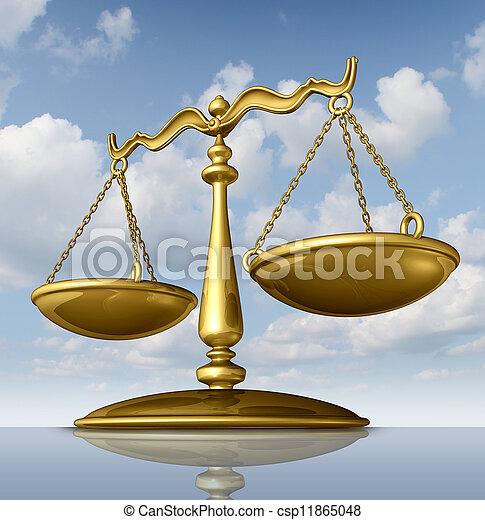 正義のスケール - csp11865048