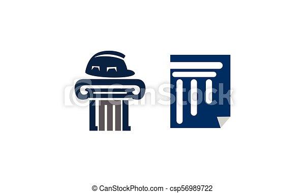 正義, 法律, セット, 文書, 解決 - csp56989722