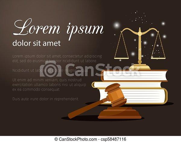 正義, 法律, 背景 - csp58487116
