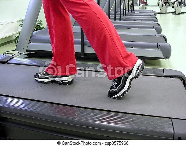 步驟, healthclub - csp0575966