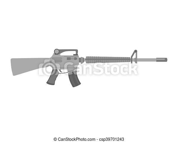 武器, submachine 銃 - csp39701243
