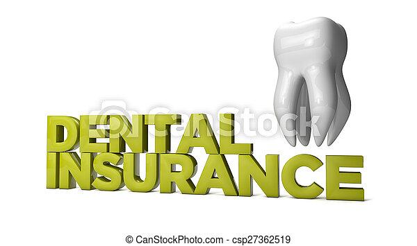 歯の保険 - csp27362519