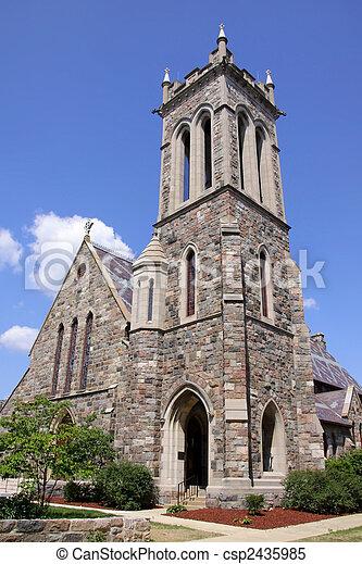 歴史的, 教会 - csp2435985