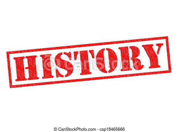 歴史 - csp18465666