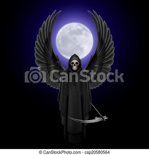 死, 天使 - csp20580564