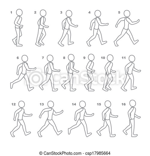 アニメーション 歩く 初心者のための!作って学ぶBlenderの基礎:⑤アニメーションを設定する