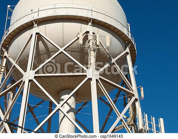 水タワー, 市の - csp1049143