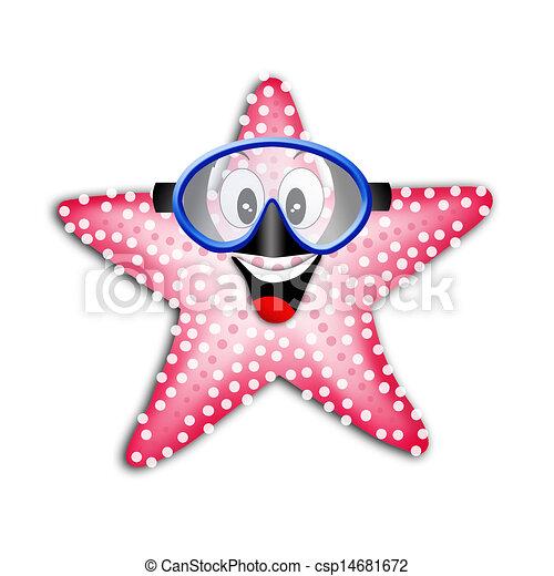 水下通气管, 面罩, starfish - csp14681672