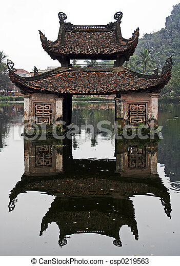 水寺院 - csp0219563