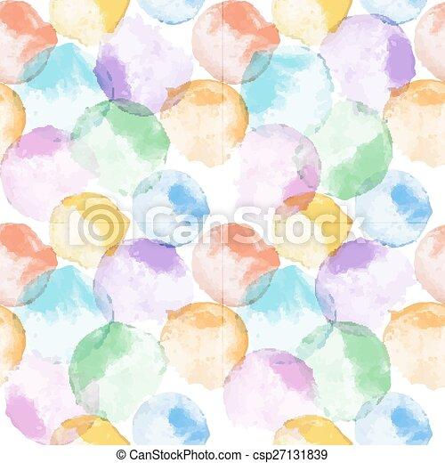 水彩画, パターン - csp27131839