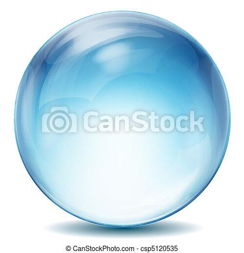 水晶球 - csp5120535