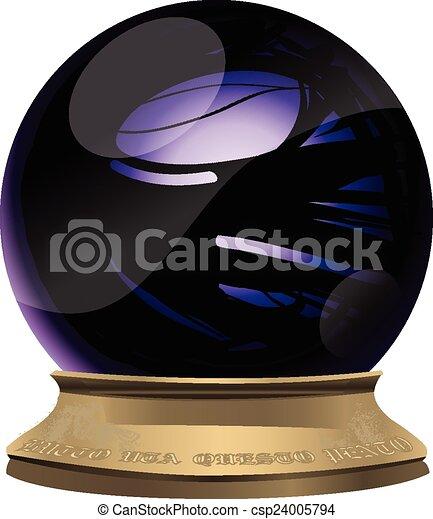 水晶球, マジック - csp24005794