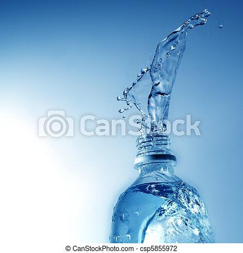水, たたきつける - csp5855972
