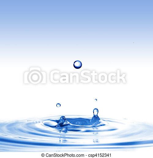 水, はね返し - csp4152341