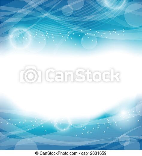 水, 樣板, 摘要設計, 背景 - csp12831659