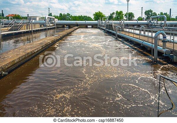 水, 清掃, ファシリティ - csp16887450