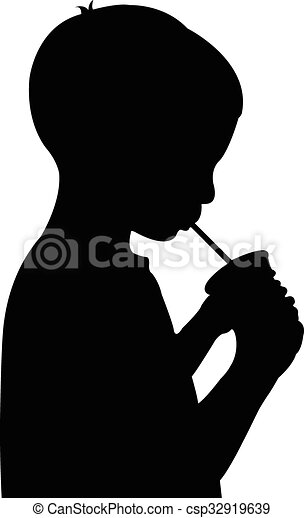 水, 男の子, 飲むこと - csp32919639