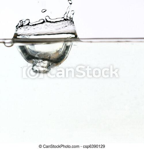 水, 飛濺 - csp6390129