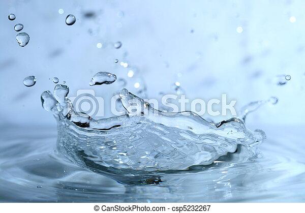 水, 飛濺 - csp5232267
