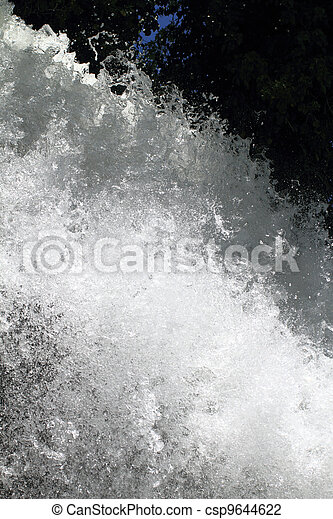 水, 飛濺 - csp9644622