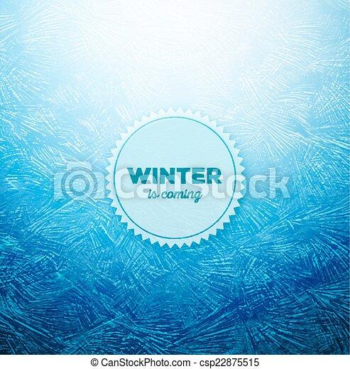 氷, 背景 - csp22875515