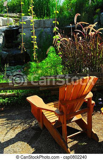 池, 中庭, 美化 - csp0802240