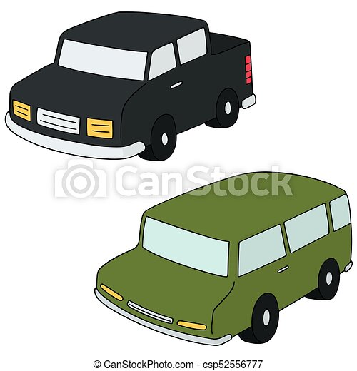 汽車, 矢量, 集合 - csp52556777