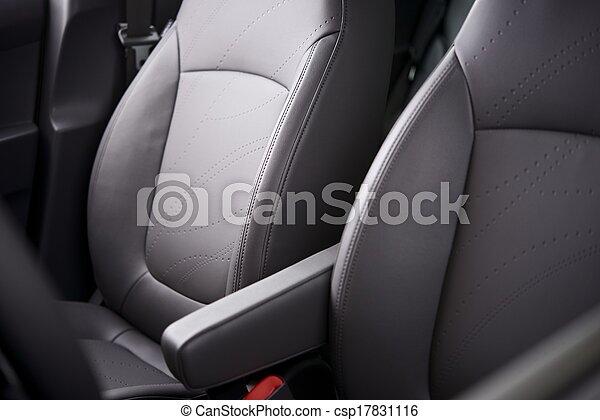 汽車, 舒適, 座位 - csp17831116