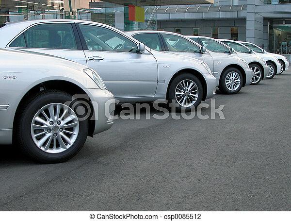 汽車, 行 - csp0085512