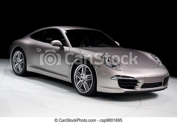 汽車, 運動 - csp9801695