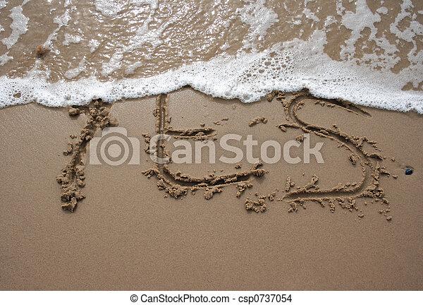 沙子, -, 是, 寫 - csp0737054