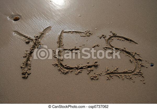 沙子, -, 是, 寫 - csp0737062