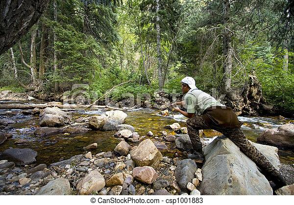 河, 漁夫 - csp1001883