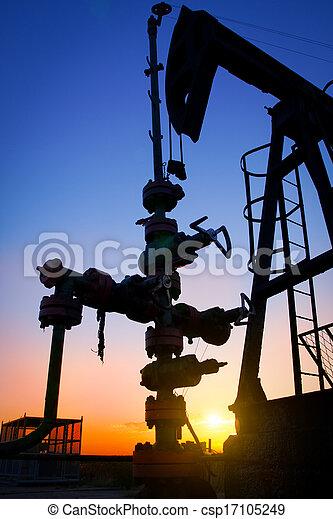 油ポンプ - csp17105249