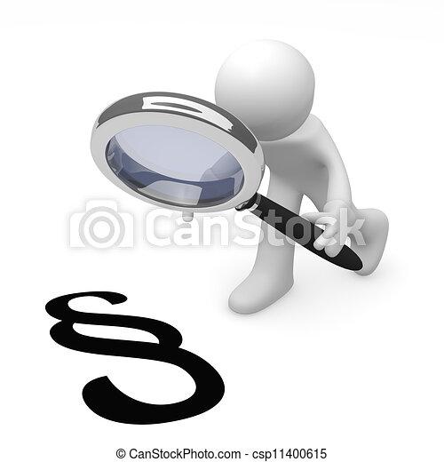 法律 - csp11400615
