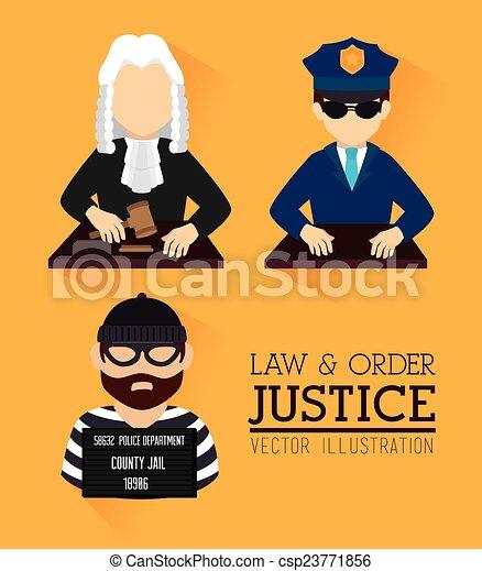 法律, デザイン - csp23771856